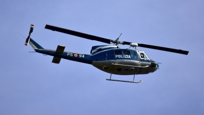 Photo ID 250931 by Ugo Pigozzi. Italy Polizia Agusta Bell AB 212AM, MM81653