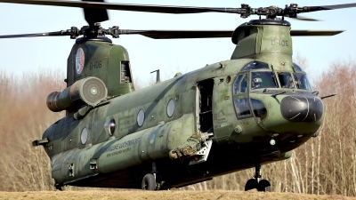 Photo ID 250932 by Carl Brent. Netherlands Air Force Boeing Vertol CH 47D Chinook, D 106