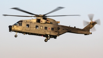 Photo ID 250957 by Matteo Buono. Italy Air Force AgustaWestland HH 101A Caesar Mk611, MM81873