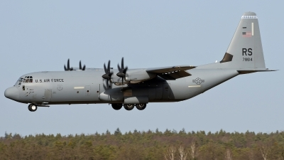 Photo ID 251007 by Patrick Weis. USA Air Force Lockheed Martin C 130J 30 Hercules L 382, 07 8614