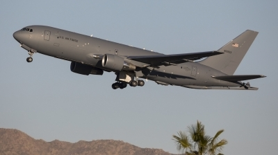 Photo ID 250993 by Nathan Havercroft. USA Air Force Boeing KC 46A Pegasus 767 200LRF, 18 46053