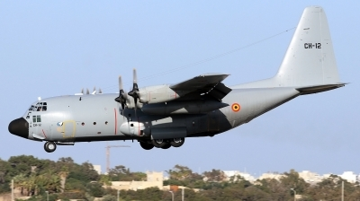 Photo ID 251011 by Duncan Portelli Malta. Belgium Air Force Lockheed C 130H Hercules L 382, CH 12