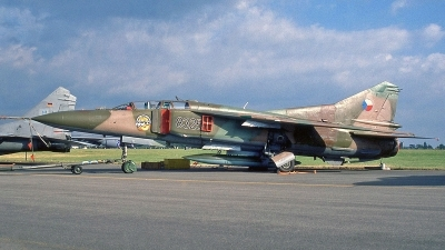 Photo ID 251077 by Peter Fothergill. Czech Republic Air Force Mikoyan Gurevich MiG 23UB, 8325