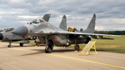 Photo ID 251076 by Alex Staruszkiewicz. Germany Air Force Mikoyan Gurevich MiG 29G 9 12A, 29 17