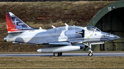 Photo ID 251127 by Rainer Mueller. Company Owned Top Aces ATSI Douglas A 4N Skyhawk, C FGZT
