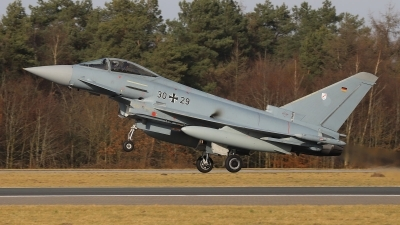 Photo ID 251177 by Benjamin Henz. Germany Air Force Eurofighter EF 2000 Typhoon S, 30 29
