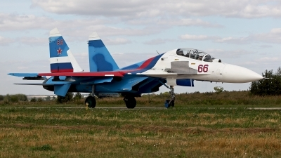 Photo ID 251201 by Carl Brent. Russia Air Force Sukhoi Su 30 Flanker C,