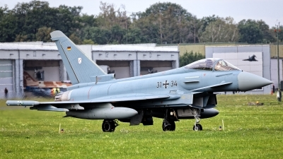 Photo ID 251206 by Rainer Mueller. Germany Air Force Eurofighter EF 2000 Typhoon S, 31 34