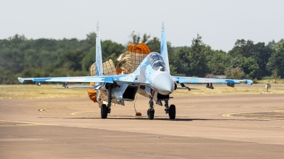Photo ID 251295 by Jason Grant. Ukraine Air Force Sukhoi Su 27UB1M, B 1831M1