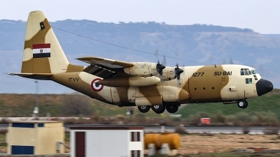 Photo ID 251387 by Ruben Galindo. Egypt Air Force Lockheed C 130H Hercules L 382, 1277