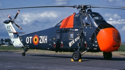 Photo ID 251458 by Alex Staruszkiewicz. Belgium Air Force Sikorsky HSS 1 Seabat S 58C, B8