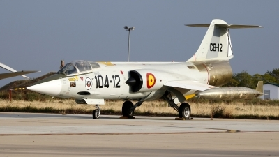 Photo ID 251578 by Montserrat Pin. Spain Air Force Lockheed F 104G Starfighter, C 8 12