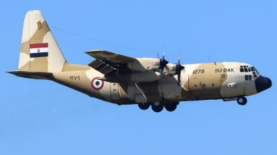 Photo ID 251649 by Ruben Galindo. Egypt Air Force Lockheed C 130H Hercules L 382, 1279