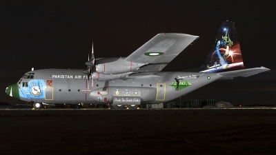 Photo ID 252003 by Chris Lofting. Pakistan Air Force Lockheed C 130B Hercules L 282, 3766