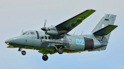 Photo ID 252021 by Radim Spalek. Lithuania Air Force LET L 410UVP, 02 BLUE