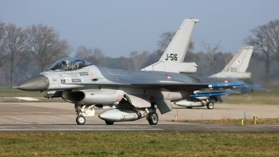 Photo ID 252038 by Carl Brent. Netherlands Air Force General Dynamics F 16AM Fighting Falcon, J 516