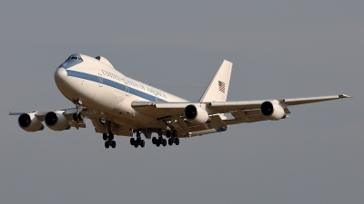 Photo ID 252100 by Walter Van Bel. USA Air Force Boeing E 4B 747 200B, 73 1676