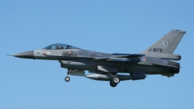 Photo ID 252106 by Dieter Linemann. Netherlands Air Force General Dynamics F 16AM Fighting Falcon, J 879