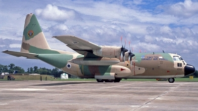 Photo ID 252118 by Peter Fothergill. Israel Air Force Lockheed C 130H Karnaf L 382, 102