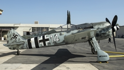 Photo ID 252134 by W.A.Kazior. Private Planes of Fame Air Museum Focke Wulf Fw 190A 9, N190RF