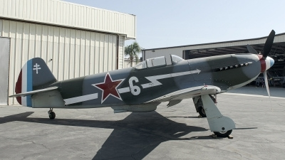 Photo ID 252295 by W.A.Kazior. Private Planes of Fame Air Museum Yakovlev Yak 3UA, N130AM