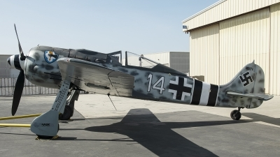Photo ID 252158 by W.A.Kazior. Private Planes of Fame Air Museum Focke Wulf Fw 190A 9, N190RF