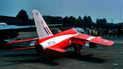 Photo ID 252218 by Alex Staruszkiewicz. UK Air Force Folland Gnat T 1, XP541