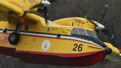 Photo ID 252250 by Claudio Tramontin. Italy Dipartimento Protezione Civile Canadair CL 415, I DPCI
