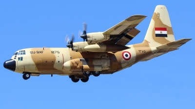 Photo ID 252389 by Ruben Galindo. Egypt Air Force Lockheed C 130H Hercules L 382, 1275