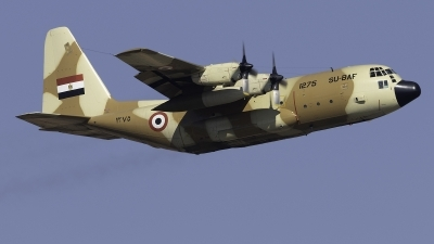 Photo ID 252435 by F. Javier Sánchez Gómez. Egypt Air Force Lockheed C 130H Hercules L 382, 1275