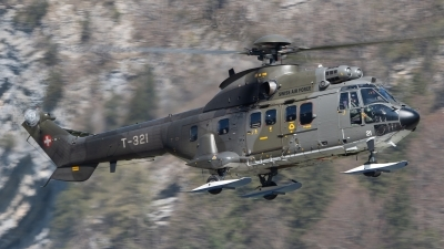 Photo ID 252810 by Luca Fahrni. Switzerland Air Force Aerospatiale AS 332M1 Super Puma, T 321