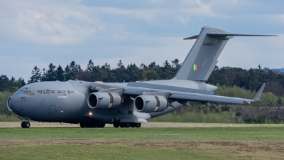 Photo ID 252826 by Max Geisler. India Air Force Boeing C 17A Globemaster III, CB 8009