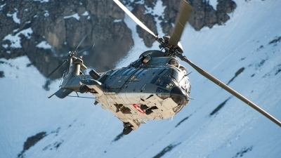 Photo ID 253049 by Tonnie Musila. Switzerland Air Force Aerospatiale AS 532UL Cougar, T 339