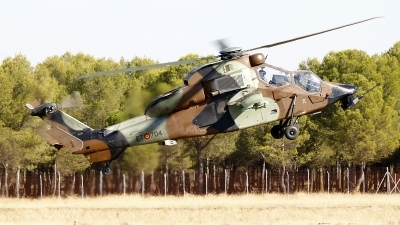 Photo ID 253281 by Montserrat Pin. Spain Army Eurocopter EC 665 Tiger HAP, HA 28 04