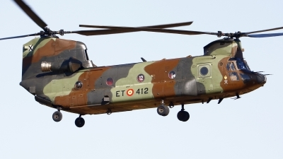 Photo ID 253283 by Montserrat Pin. Spain Army Boeing Vertol CH 47D Chinook, HT 17 12