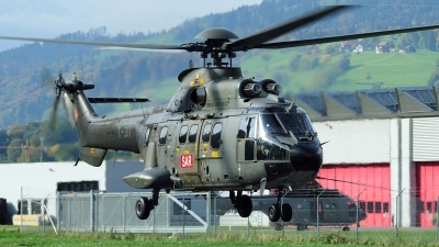 Photo ID 28320 by Joop de Groot. Switzerland Air Force Aerospatiale TH89 Super Puma AS 332M1, T 311