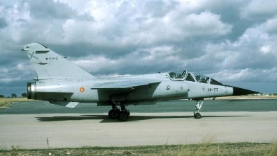 Photo ID 28321 by Joop de Groot. Spain Air Force Dassault Mirage F1BE, CE 14 31