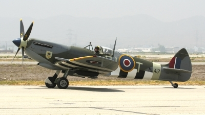 Photo ID 3268 by Nathan Havercroft. Private Private Supermarine 361 Spitfire LF9C, NX2TF