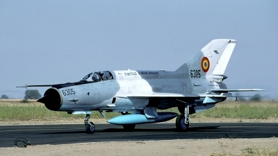 Photo ID 28520 by Joop de Groot. Romania Air Force Mikoyan Gurevich MiG 21MF 75 Lancer C, 6305