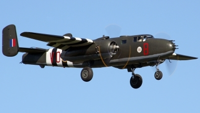 Photo ID 28621 by Dale Boeru. Private Canadian Warplane Heritage Museum North American B 25J Mitchell, C GCWM