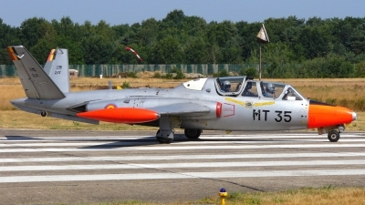 Photo ID 28856 by Markus Schrader. Belgium Air Force Fouga CM 170R Magister, MT 35
