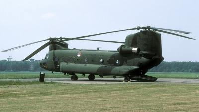 Photo ID 28931 by Joop de Groot. Netherlands Air Force Boeing Vertol CH 47D Chinook, D 665