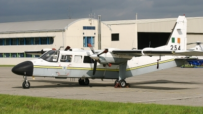 Photo ID 28973 by Rob Hendriks. Ireland Air Force Britten Norman BN 2T 4S Islander, 254