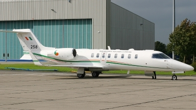 Photo ID 28989 by Rob Hendriks. Ireland Air Force Learjet 45, 258