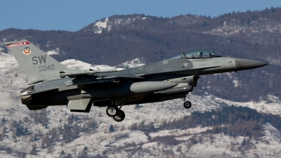 Photo ID 29204 by Giampaolo Tonello. USA Air Force General Dynamics F 16C Fighting Falcon, 94 0040