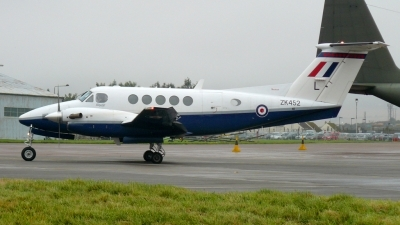 Photo ID 29292 by Nathan. UK Air Force Beech Super King Air B200, ZK452