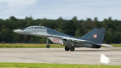 Photo ID 29443 by Pawe&觺 Sieka&觼ski. Poland Air Force Mikoyan Gurevich MiG 29GT 9 51, 4123