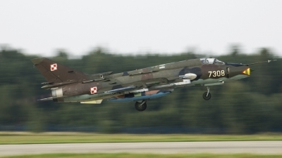 Photo ID 29445 by Pawe&觺 Sieka&觼ski. Poland Air Force Sukhoi Su 22M4 Fitter K, 7308