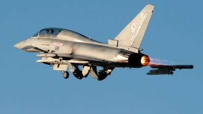 Photo ID 29695 by James Matthews. UK Air Force Eurofighter EF 2000 Typhoon T1, ZJ812