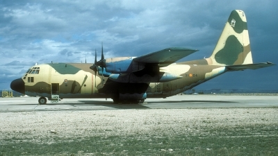 Photo ID 29714 by Joop de Groot. Spain Air Force Lockheed C 130H Hercules L 382, T 10 04